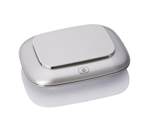 Kompakter Luftreiniger, leiser Luftreiniger und Ionisator zur Vermeidung von Allergenen, Staubpollen, Asthma, Rauchern, Luftreinigern, beseitigen alle Bakterien, 1 STÜCKE,White