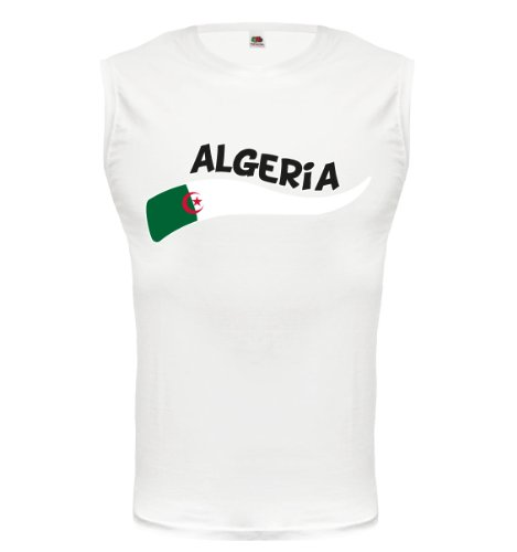 buXsbaum® Tank Top Algerien-Wave White-z-direct