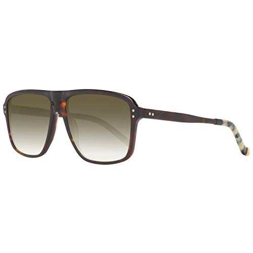 Hackett London Herren HSB86814357 Sonnenbrille, Braun (Marrón), 57