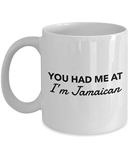 Mike21Browne Jamaikanische Tasse Sie Hatten Mich im jamaikanischen jamaikanischen Kaffeetasse-Jamaika-Geschenk - Jamaika-geschenk-set