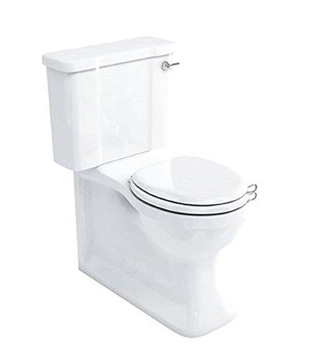 Arcade Schließen, und WC Suite und Sitz (vollständig Wandbündige Stand-) With White Seat - Suite Wc