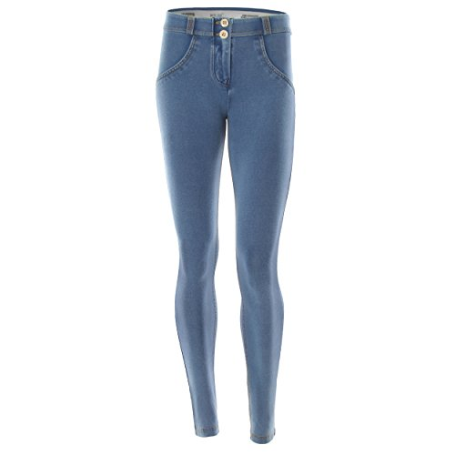 Freddy WR.UP Mid Rise Skinny Jeans Light Wash Denim