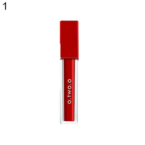 Lucidalabbra Volumizzante By clifcragrocl,Cosmetici di trucco di trucco di colore sexy Easy Wear Velvet Lip Gloss Lip Gloss - 1#