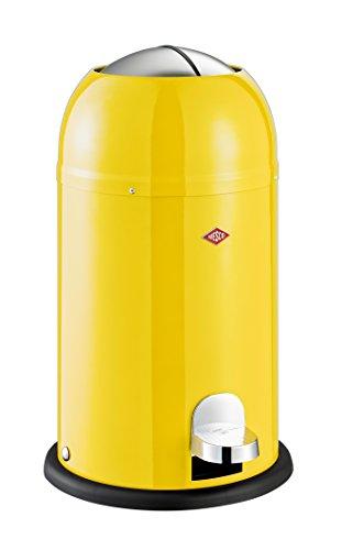 Wesco Abfalleimer Kickmaster Junior Mülleimer Abfalleimer Abfallbehälter NEU OVP Zitronengelb
