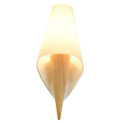 Nordic postmodernen Holzwandleuchte Nachttischlampe kreative Mode Korridor Beleuchtung kann im Hotel Wohnzimmer Schlafzimmer Nachttisch Restaurant Korridor Freizeit Ort Ladengang verwendet werden