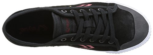 Feiyue Fe Lo Ii Gold Medal, Baskets mode mixte adulte Noir (801)