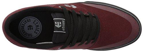 Etnies Marana Vulc, Scarpe da Skateboard Uomo Rosso (Red/black/grey)