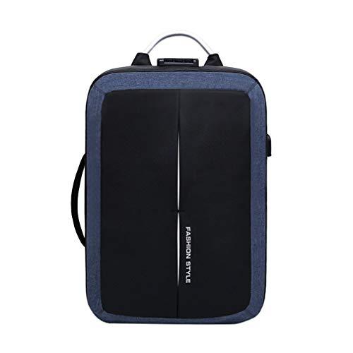 Lefu Anti-Dieb USB Aufladen Rucksack Schultasche Business Travel Walk Rucksack