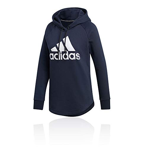adidas Damen W MH BOS OH HD Sweatshirt Legend Ink/White S