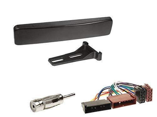 1 Din Radio Einbauset Blende Radioanschlusskabel Antennenadapter für Ford Focus I (DBW/DAW) 1998-2004