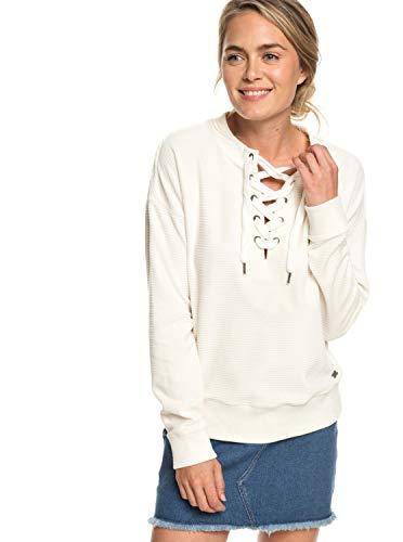 Velours-jumper (Roxy Lucky Sunshine - Lace-Up Velour Sweatshirt for Women - Frauen)