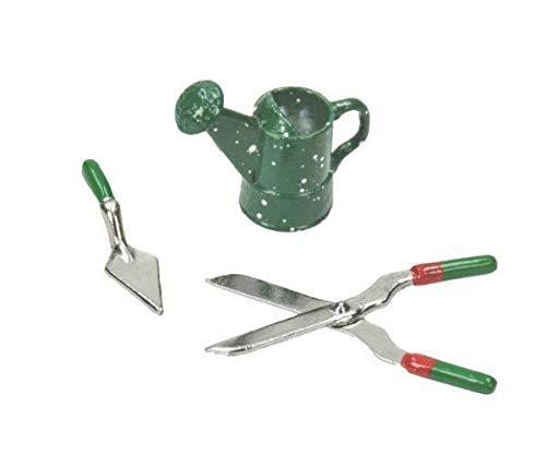 Metall Miniatur-Garten-Tools (3ks), Efco, Miniaturen, Floristik, Hobby, Farben, Decoupage