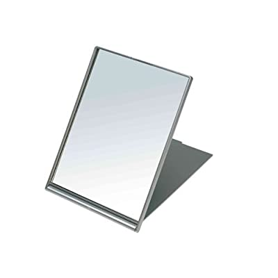 SIBEL Small folding make-up/Shaving mirror - Silver