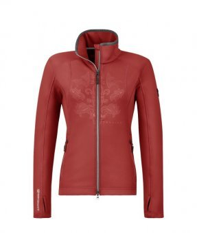 CAVALLO Damen Funktions Shirt Jacke HILA, garnet red, 42