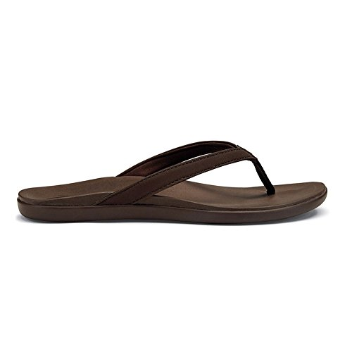 Olukai Woman Sandal Hoopio Copper/Jave Brown Caffè Kona