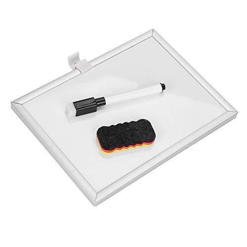 Whiteboard Weiß klein mini beschreibbar hängend tafel büro wand Memoboard Pinnwand Office Home Magnettafel im schreibtisch mit einem löscher und marker 15 * 20cm