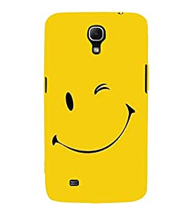FUSON Smiley Face Vector Design 3D Hard Polycarbonate Designer Back Case Cover for Samsung Galaxy Mega 6.3 I9200 :: Samsung Galaxy Mega 6.3 Sgh-I527