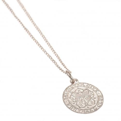 Sterling Silver Pendant & Chain - Leicester City F.C