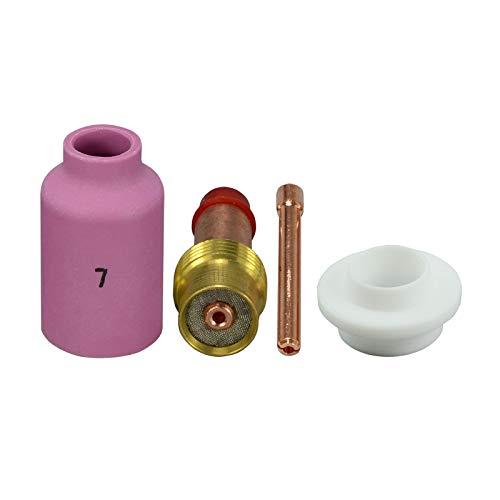 TIG Gaz Objectif Assorted Taille 3/32 \