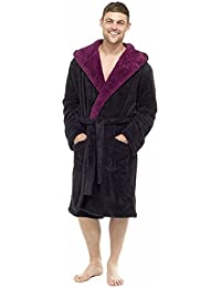 5fe560416a MICHAEL PAUL Men s Luxury Soft Fleece Dressing Gown