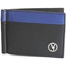 1fd4e9af17 Portafoglio Versace Jeans molla fermasoldi E3YSBPB8 mag blu/nero