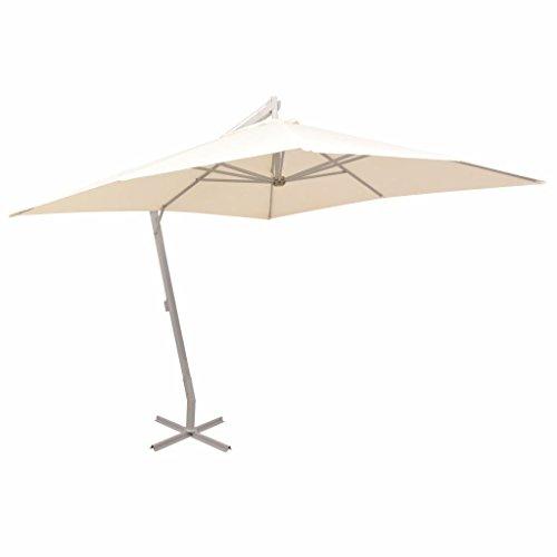 Xingshuoonline Patio Parapluie à Suspendre Parasol Sable Tube en Aluminium à Suspendre Parapluie Vous protéger des Rayons UV nocifs du Soleil