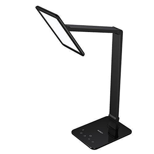 AUKEY Lampade da Tavolo Pieghevole a LED 10W Grande Pannello