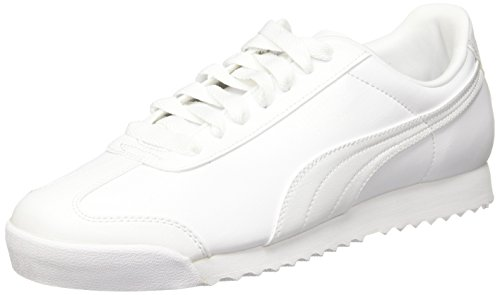 b40c2843 Puma Roma Basic, Zapatillas para Hombre, Blanco (White-light Gray 21)