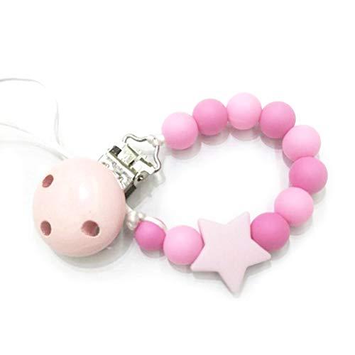 Liaobeiotry Cute Baby Schnullerkette Clip Kind Perle Silikon Nippel Ketten Strap New Holder Newborn Appease Supplies -