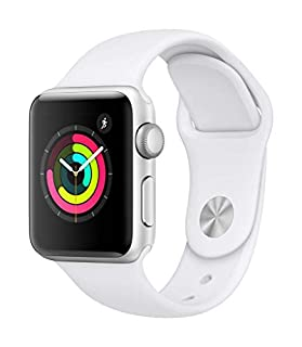 Apple Watch Series 3 (GPS) con caja de 38 mm de aluminio en plata y correa deportiva - Blanca (B07HKTJG2R) | Amazon price tracker / tracking, Amazon price history charts, Amazon price watches, Amazon price drop alerts