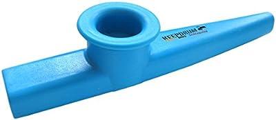 Keepdrum Kazoo azul de plástico Instrumento Musical para niños