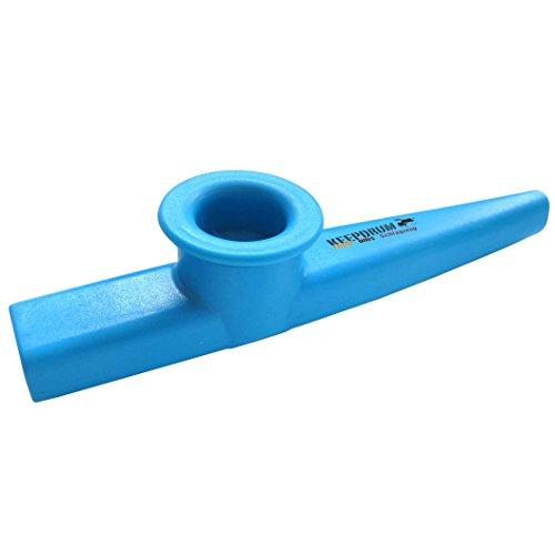 KEEPDRUM Kazoo Blau aus Kunststoff Musikspielzeug