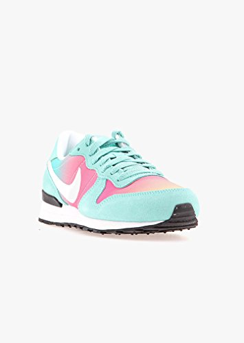 Nike Internationalist (Gs), Chaussures de Sport Fille Turquoise - Turquesa (Turquesa (Hyper Turq / White-Black))