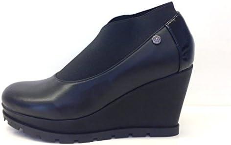 Apepazza - Zapatos de vestir de Piel para mujer negro negro