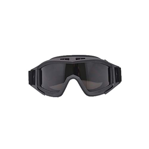 GreatWall Army Fan Brille Tactical Brille Anti-Impact Desert Brille Forces Brille Schwarz