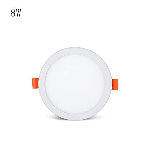 HJZY 6W 8W 15W 20W 30W LED antirreflejos Downlight Integrado Panel de...