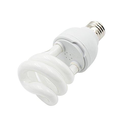 Ulable 10.0/5.0luz ultravioleta UVB para tortuga reptil Lagarto compacto Globe E27 13.00 wattsW