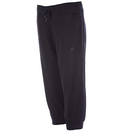 adidas  Damen Hose 3/4 Knit, Essentials, Schwarz, XXS (Capri Pants Knit)