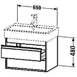 Duravit Waschtischunterschrank Ketho 440x650x410mm für 045470, graphit matt, KT662404949