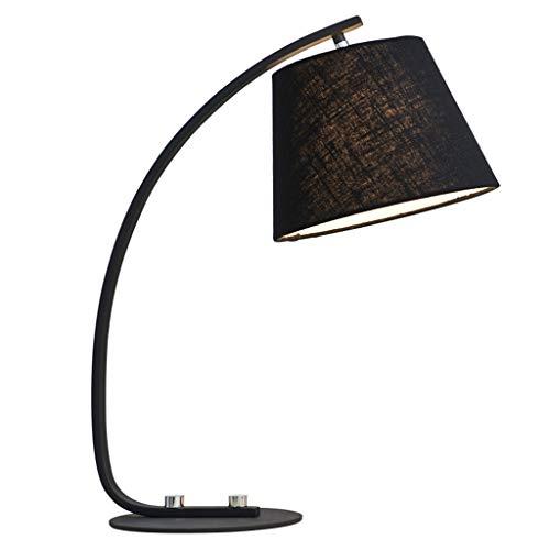 XUXUEPING LED Schreibtischlampe Portable Task Lampe Augenpflege Tischlampen Für Wohnzimmer/Büro / Schlafzimmer/Kinder / Nachttisch/Studie (Farbe : Schwarz) -