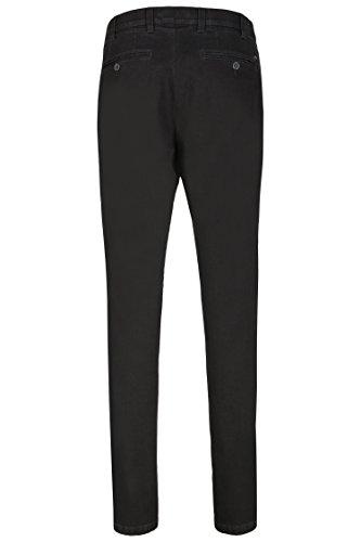 aubi: Perfect Fit Herren Jeans Swing Pocket Kurzleib black (50)