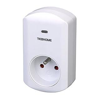 Z-Wave Zwischenstecker mit Dimmer-Funktion (Typ E) TKB Home