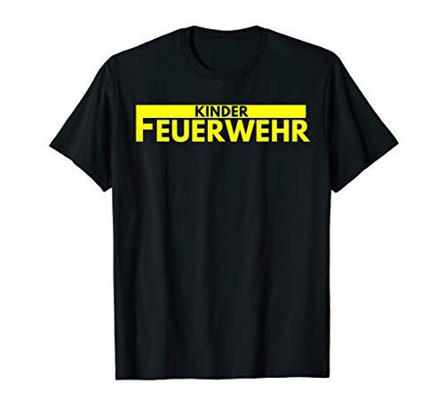 Kinder Feuerwehr T-Shirt Uniform Kostüm Feuerwehrmann (Rot Feuerwehrmann Kostüm Frauen)