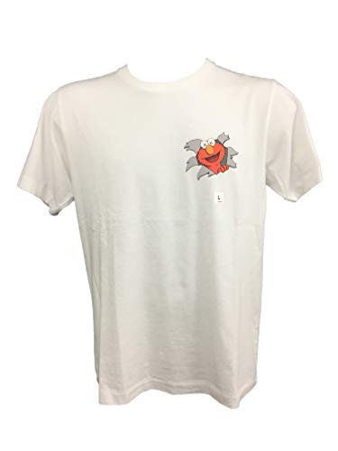 Uniqlo - T-Shirt - Homme - Blanc - XL