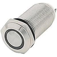 10x Mini Stromstoß Push Button Momentary OFF-ON Schalter für Auto Boot