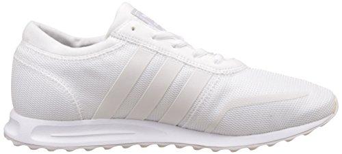adidas Angeles, Scarpe da Ginnastica Basse Unisex-Bambini Bianco (Ftwr White/ftwr White/ftwr White)