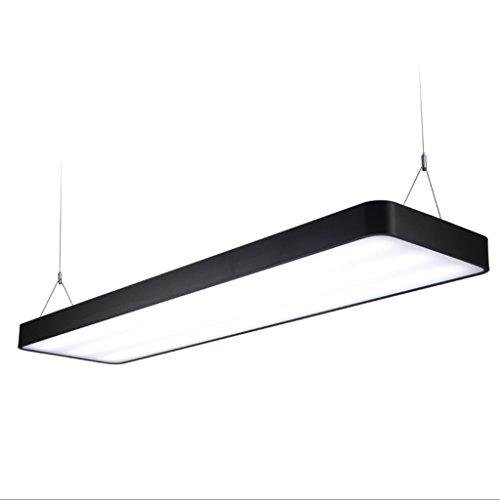Kronleuchter LED-Kronleuchter Aluminium-Langstreifen-Büro-Gebäude-Studie Handelsbeleuchtung-Kronleuchter Kreativ 60 * 20cm ( größe : 90cm*20cm ) (Hanf-gebäude)