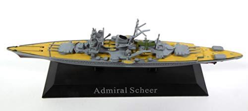 Unbekannt Admiral Scheer 1933 Battleship 1/1250 WS20 -