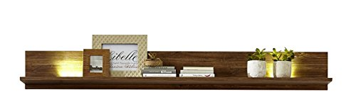 Peter GTCC901041 Wandboard, Holz, braun, 27 x 139 x 25 cm