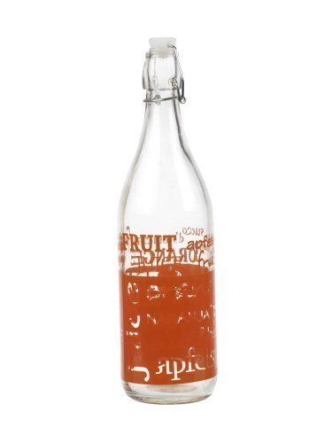 Botella Cristal Columpio Top - Naranja
